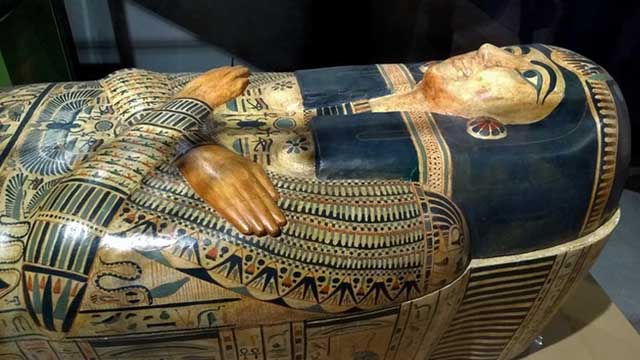 2500 years Mummified coffin unearthed