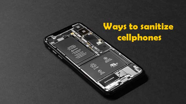 How to cleanse mobile phones?